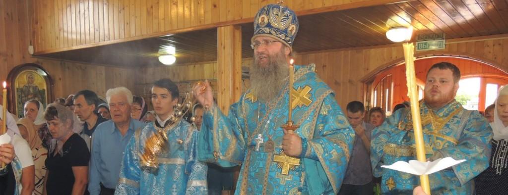Всенощное бдение в храме Казанской иконы Божией Матери.
