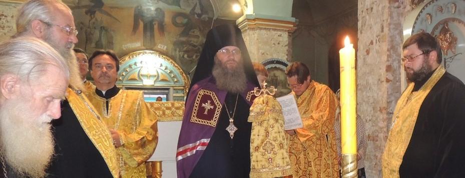 Всенощное бдение в Покровском кафедральном соборе