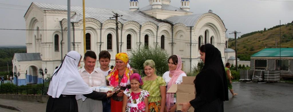 Благотворительная акция «День семьи» в Усть-Медведицком Спасо-Преображенском женском монастыре