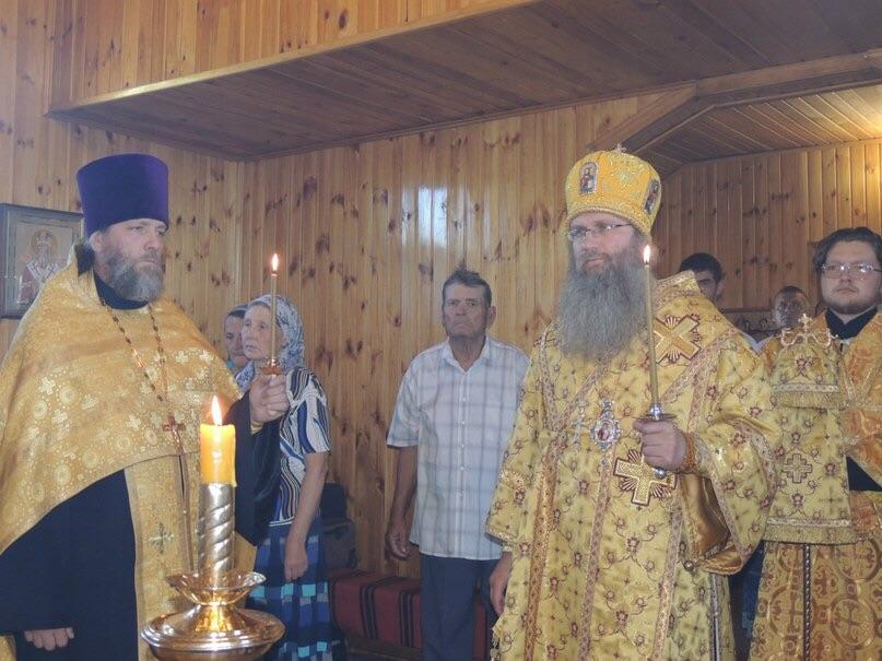 Всенощное бдение в храме Покрова Пресвятой Богородицы.