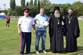 Очередной ежегодный 11 Православный Успенский турнир по футболу.