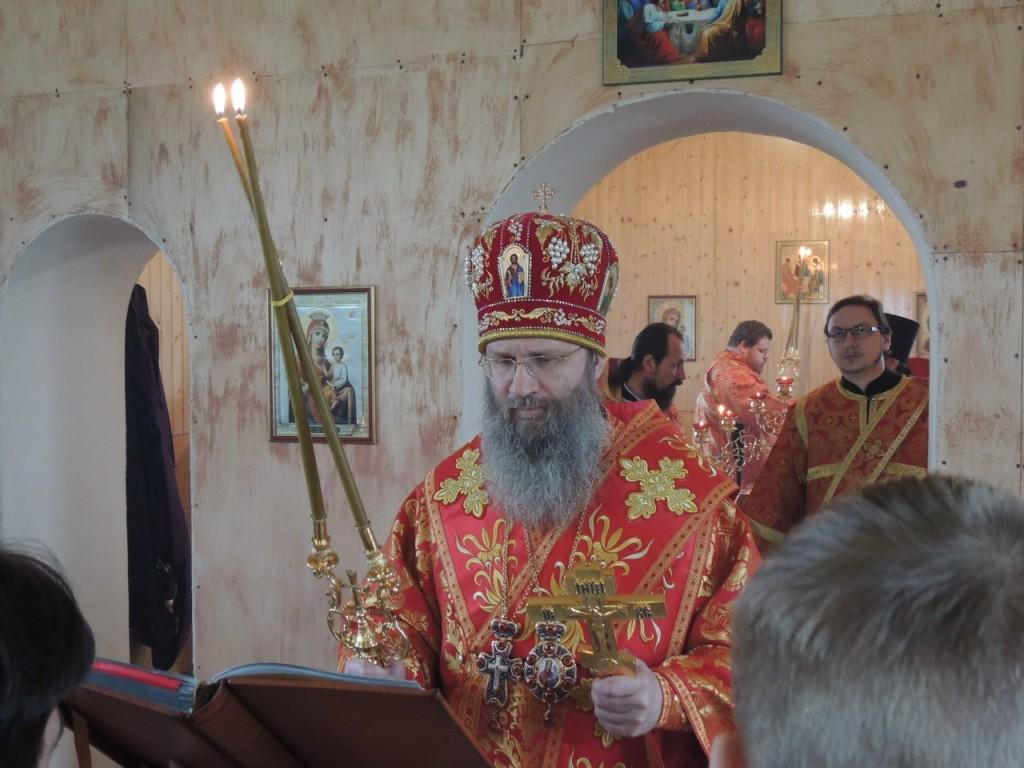 Торжества в день празднования  памяти сщмч. Николая Попова, пресвитера иже в Верхнем Гнутове.