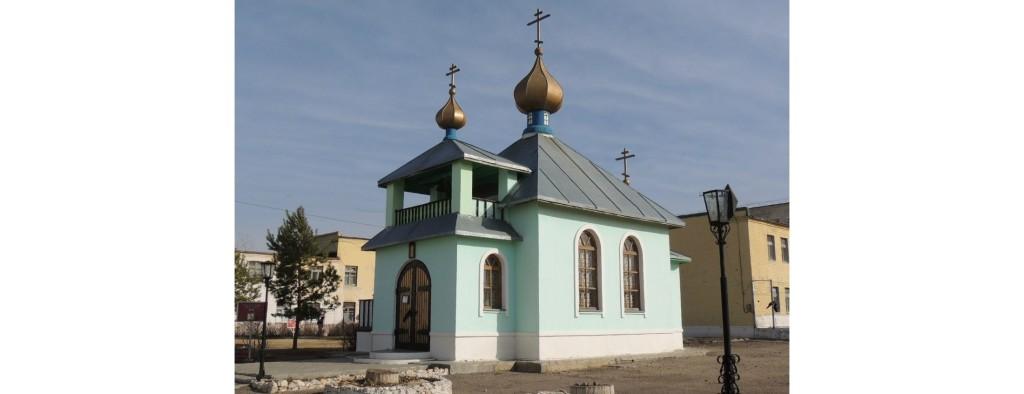 Божественная литургия в храме Святого князя Димитрия Донского на территории колонии ЯР 154/25.