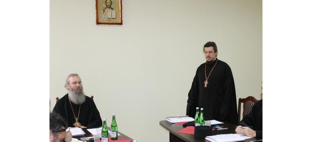 Расширенное заседание епархиального совета.