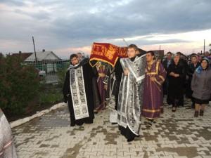 Утреня с чином погребения святой Плащаницы Господа нашего Иисуса Христа в в Покровском кафедральном соборе