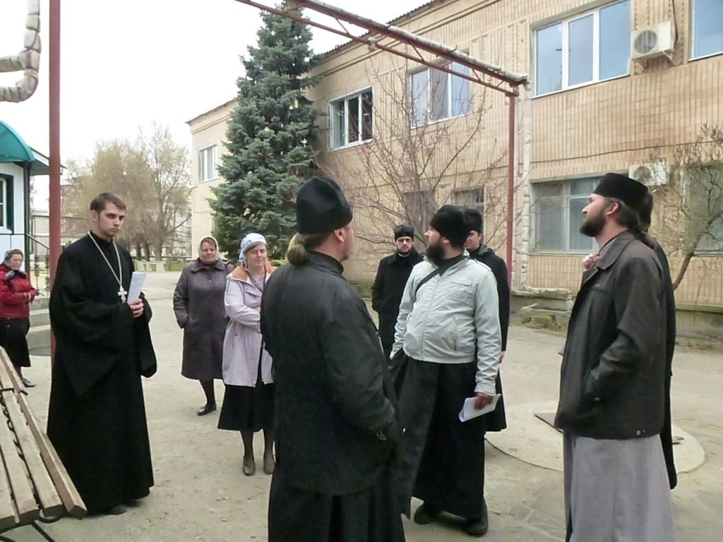 Первое заседание Совета епархиального отдела по церковной благотворительности и социальному служению Урюпинской епархии.