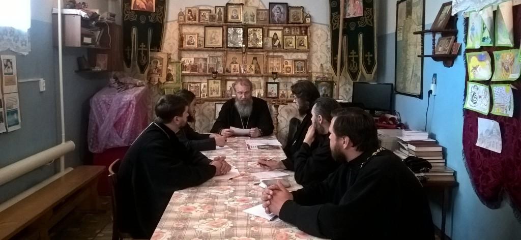 Собрание духовенства Серафимовичского благочиния.