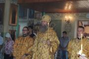 Праздничное Всенощное бдение в храме святителя Николая архиеп. Мир Ликийских чуд.