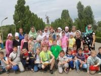 Детский отдых воспитанников воскресной школы «Вдохновение» прихода храма Святого праведного Иоанна Кронштадтского.