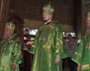 Торжествах в день памяти памяти прп. Сергия игумена Радонежского в Черниговском скиту Троице-Сергиевой Лавры.