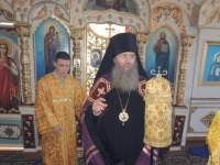 Божественная литургия в храме Архистратига Божия Михаила.