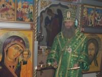 Божественная литургия в храме Преображения Господня при ЛИУ-23 г. Урюпинска.