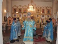 Божественная литургия в храме Святой Троицы в х. Березовка 1-я.