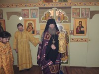 Божественная литургия в храме прп. Арсения Великого.