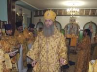 Божественная литургия в храме прп. Сергия игумена Радонежского.