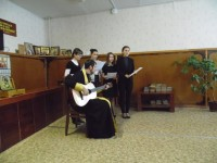 Концерт в онкологическом диспансере города Урюпинска.