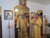 Праздничная Божественная литургия в храме святого Апостола Андрея Первозванного.