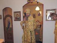 Праздничное Всенощное бдение в храме святого Апостола Андрея Первозванного.
