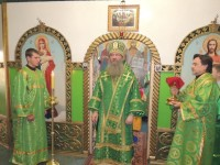 Праздничное богослужение в день преставления преподобного Никона Радонежского в храме прп. Сергия игумена Радонежского.