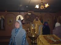Престольный праздник в храме Святителя Николая (с. Зензеватка)