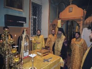 Всенощное бдение и Новогодний молебен в Покровском кафедральном соборе
