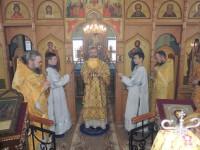 День памяти Свт. Амвросия, еп. Медиоланского, В Гусевском женском монастыре в честь Ахтырской иконы Божией матери.
