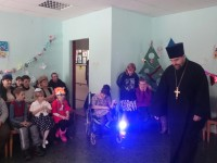 Новогоднее представление для детей с ограниченными возможностями здоровья.