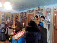 Божественная Литургия в храме преп. Сергия Радонежского с. Большое Судачье