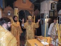 Божественная литургия в Покровском кафедральном соборе г. Урюпинска.