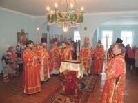 Божественная литургия в последний день 2016 года.