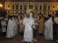 Божественная литургия в храме Казанской иконы Божией Матери в г. Михайловке.
