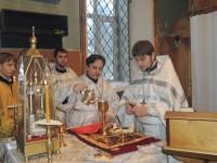 Великая вечерня в соединении с Божественной литургией святителя Василия Великого и чин великого освящения воды.