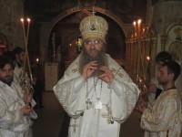 Всенощное бдение в Покровском кафедральном соборе в г. Урюпинске.