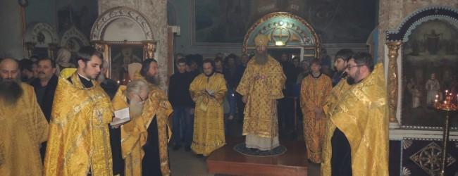 Всенощное бдение и Новогодний молебен в Покровском кафедральном соборе.