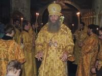 Новогодний молебен в Покровском кафедральном соборе.