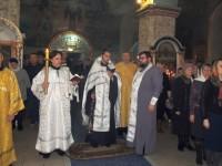 Праздничное Всенощное бдение в Покровском кафедральном соборе г. Урюпинска.