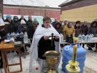 Уставное богослужение в храме прп. Сергия игумена Радонежского г. Урюпинска. (Крещенский сочельник)
