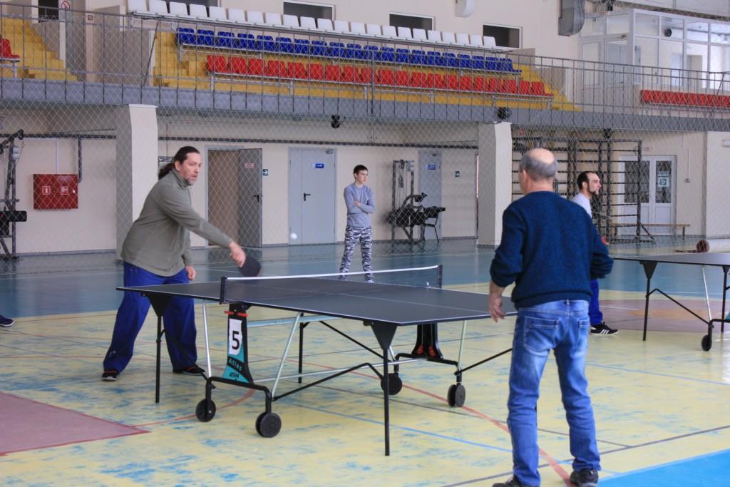 Открытые соревнования по настольному теннису, посвященные 74-й годовщине Победы в Сталинградской битве.