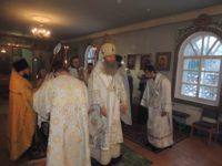 Всенощное бдение в храме Святой Троицы в ст. Кумылженской