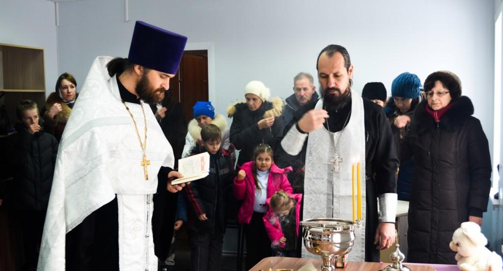 В г. Михайловка открыт Центр гуманитарной помощи «Доброе сердце».