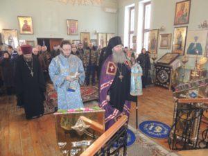 Божественная литургия в Гусевском женском монастыре в честь Ахтырской иконы Божией Матери