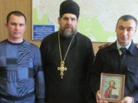 Поздравление представителей силовых структур Еланского района накануне Дня защитника Отечества.