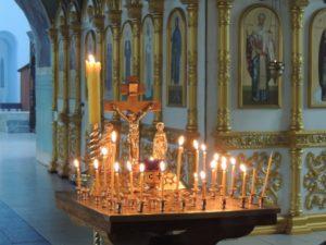 Уставные богослужения в Покровском кафедральном соборе соборе г. Урюпинска