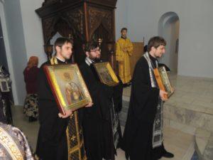 Вечерня с чином прощения в Покровском кафедральном соборе г. Урюпинска