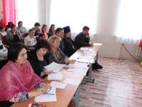 Первые Рождественские образовательные чтения на базе Преображенской средней школы.