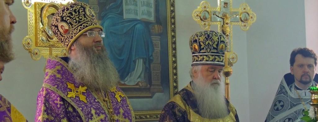 Божественная литургия Преждеосвященных даров в храме святаго праведного Иоанна Кронштадтского г. Волгограда