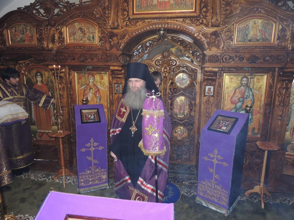 Божественная литургия в Усть-Медведицком Спасо-Преображенском женском монастыре г. Серафимовича.