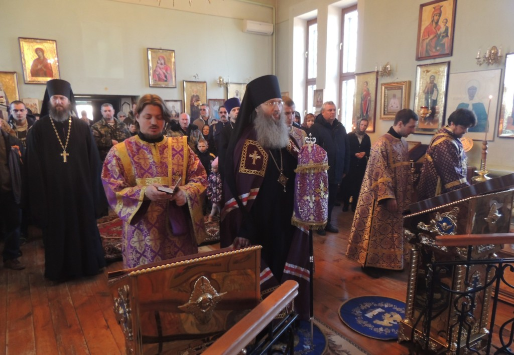 В Гусевском женском монастыре, Ольховского района почтили память почившего духовника обители схиархимандрита Димитрия (Захарич).