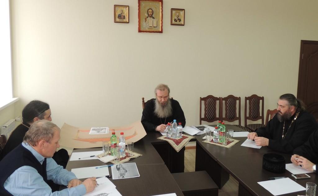 В Урюпинской епархии состоялся епархиальный совет по архитектуре строительства и реставрации храмов епархии.
