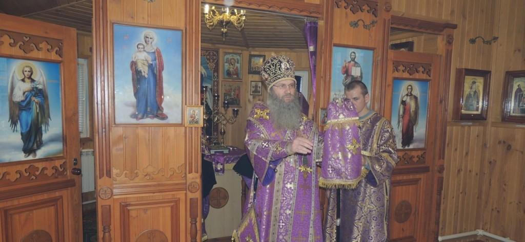 Заупокойное Вечернее богослужение в храме прп. Агапита Печерского в г. Михайловке.